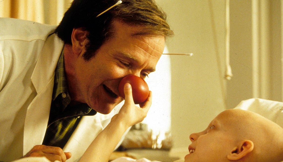 10 personajes inolvidables de Robin Williams - 'Patch Adams,' 1998