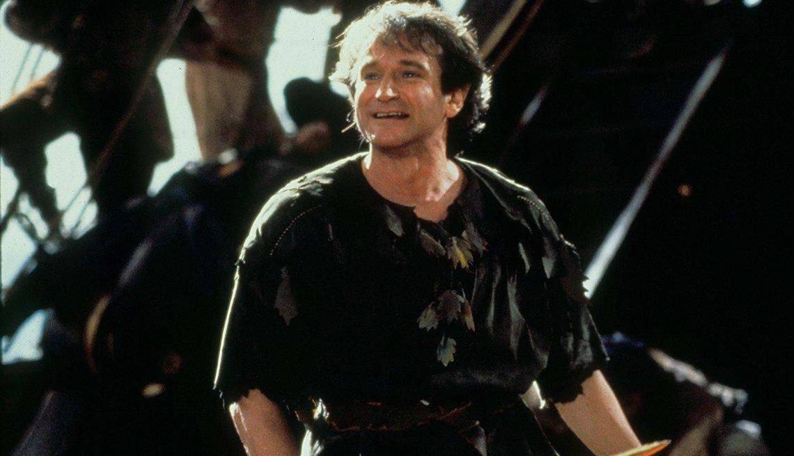 10 personajes inolvidables de Robin Williams - 'Hook' (El Capitán Garfio), 1991