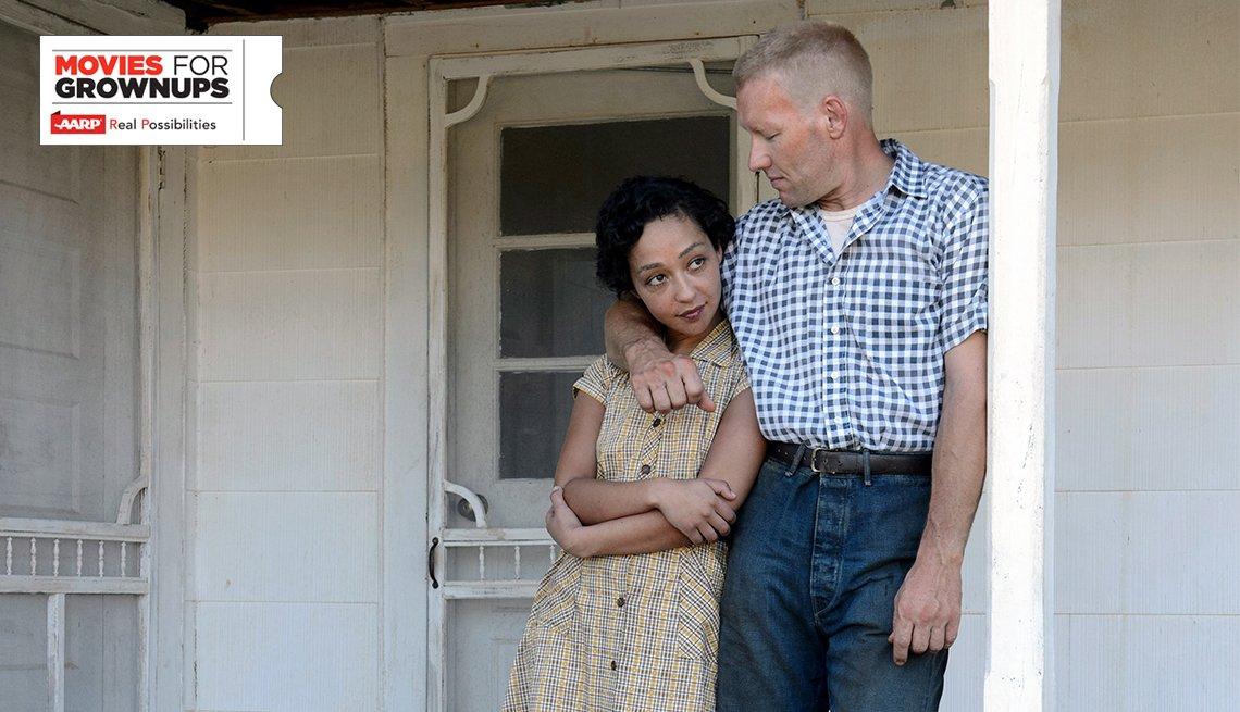 Ruth Negga and Joel Edgerton in 'Loving'