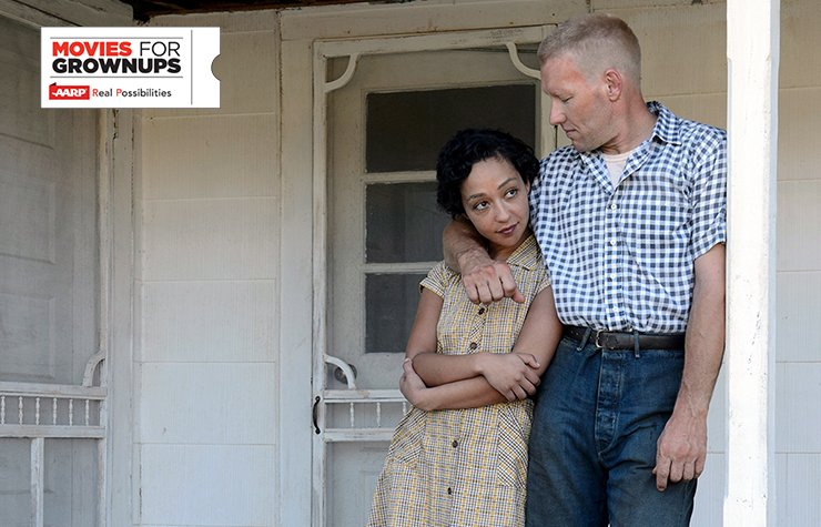 Ruth Negga y Joel Edgerton en una escena de la película Loving