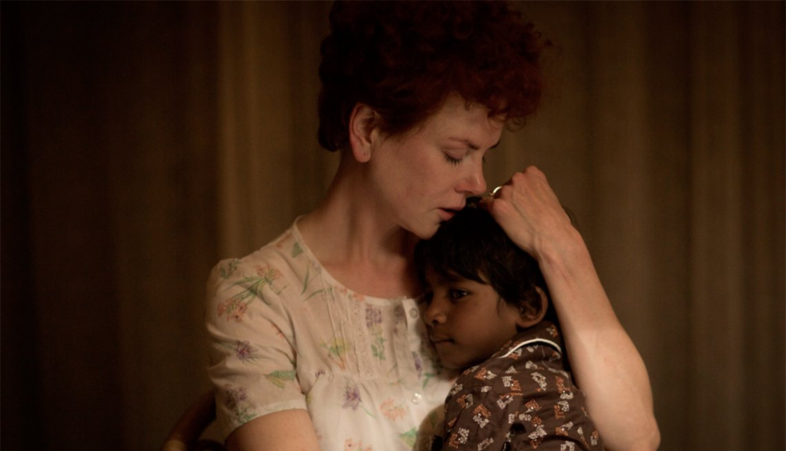 Nicole Kidman and Sunny Pawar in 'Lion'