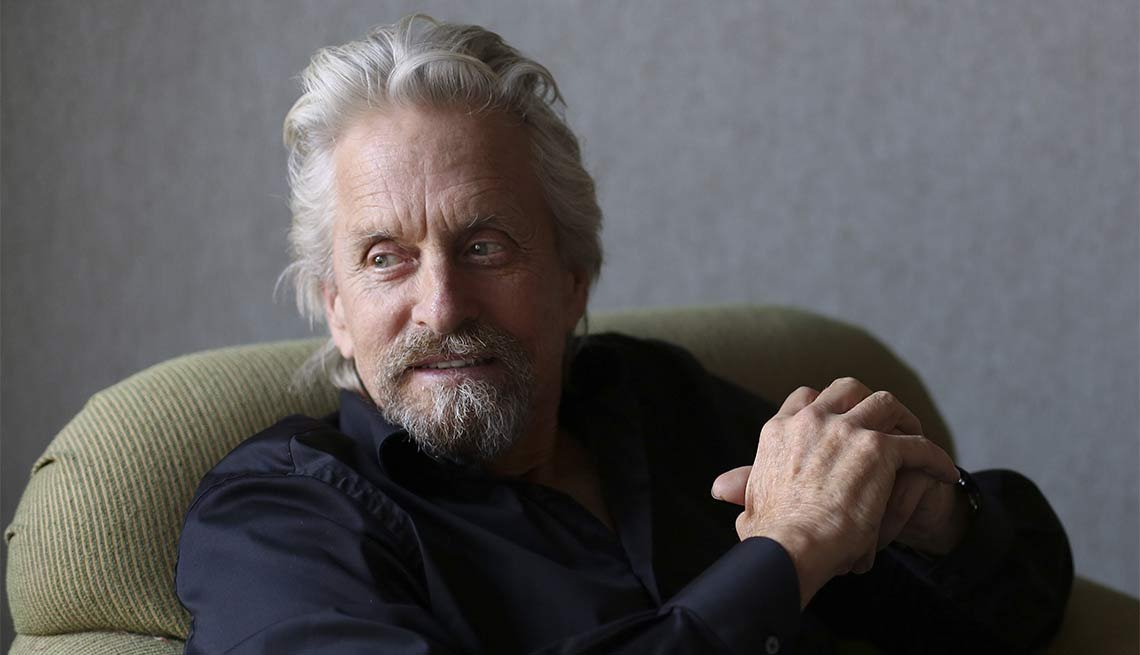 Michael Douglas Through the Years
