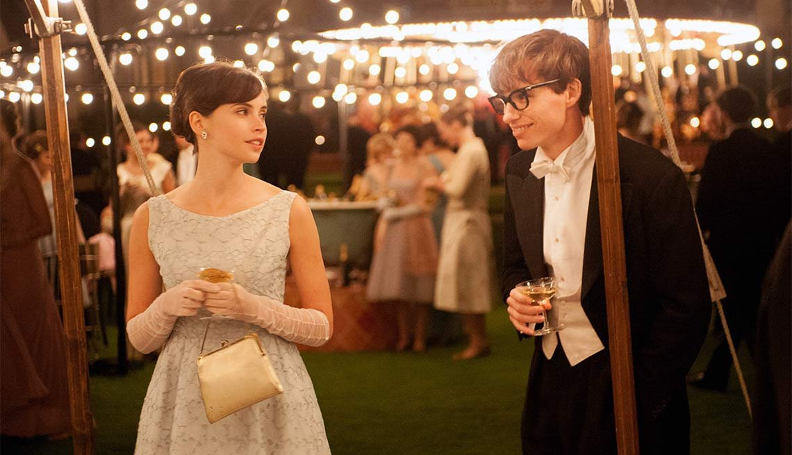 The Theory of Everything, Felicity Jones, Eddie Redmayne