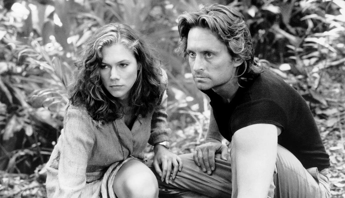 Michael Douglas Through the Years, Romancing the Stone