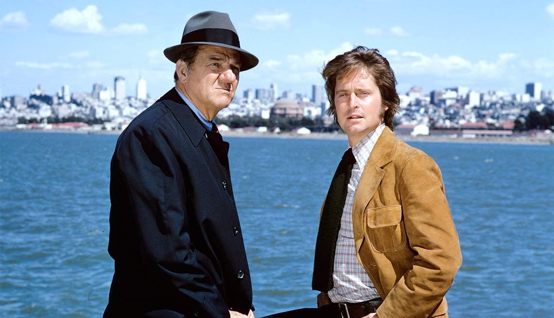 Escena de la película Streets of San Francisco - La carrera de Michael Douglas a través de los años