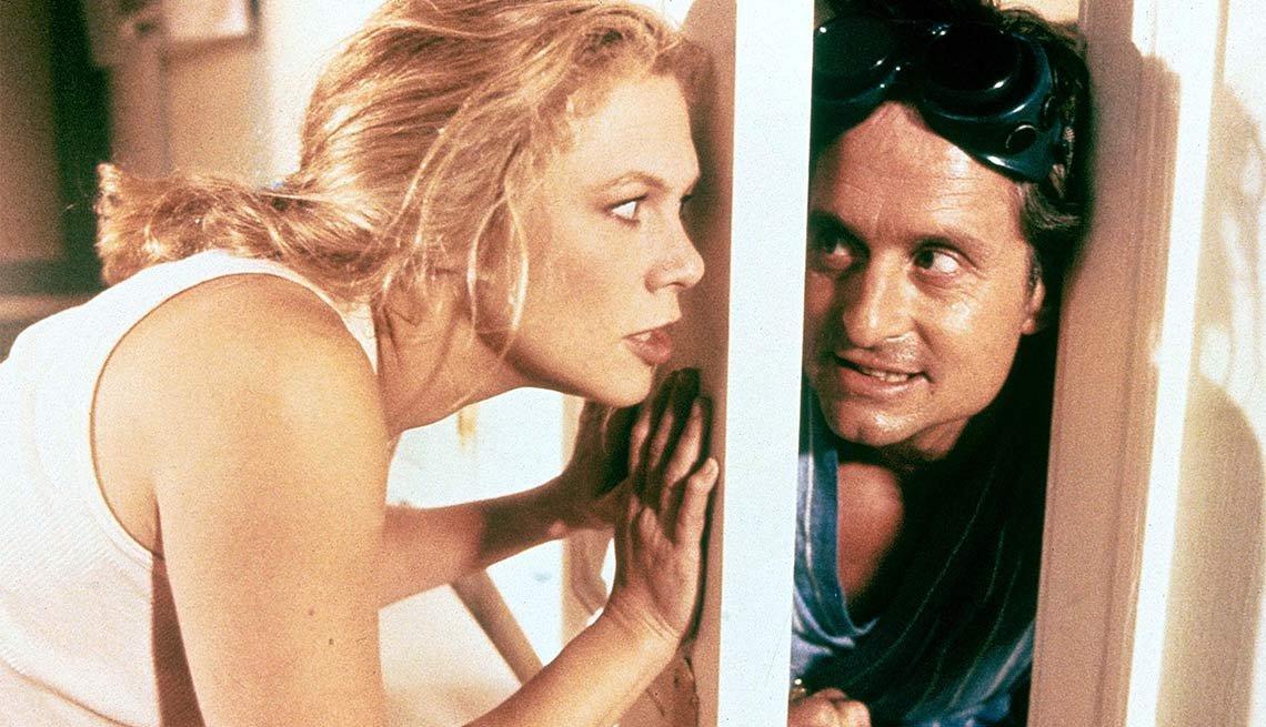 Escena de la película La guerra de los Roses - La carrera de Michael Douglas a través de los años