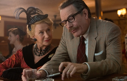 15th Annual Movies for Grownups Awards, Helen Mirren and Bryan Cranston in Trumbo