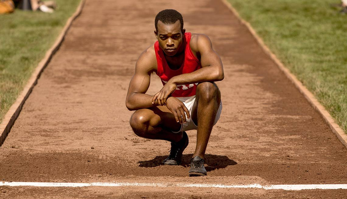 Stephan James as Jesse Owens in 'Race'
