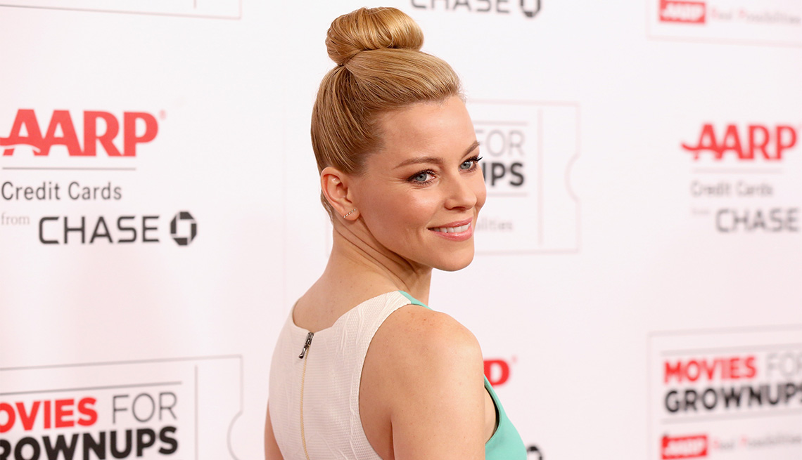 Elizabeth banks at the 15th annual movies for grownups awards