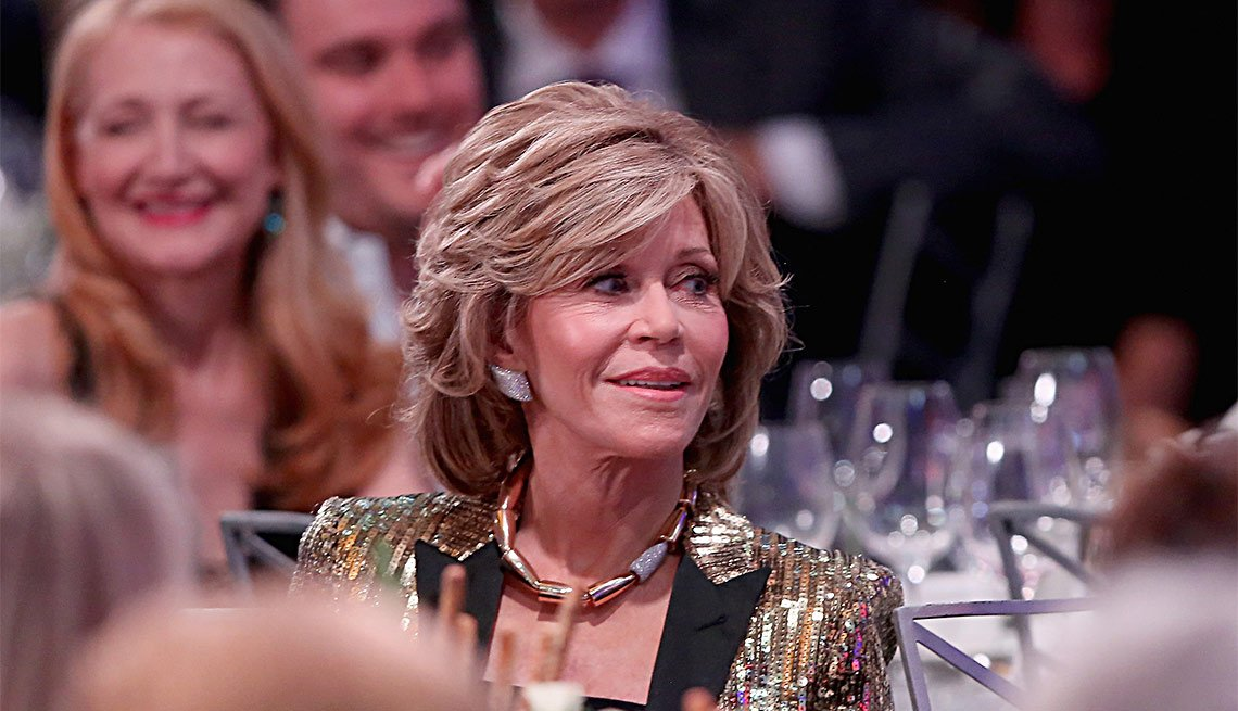 Jane Fonda at the 15th Annual movies for grownups awards