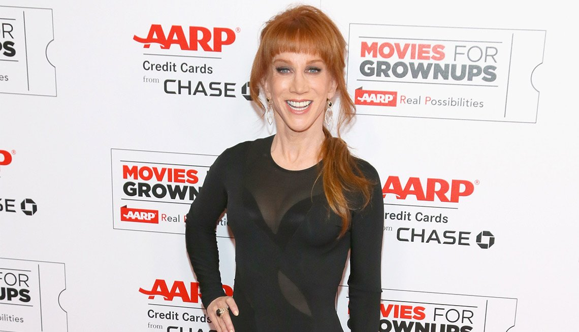 Host Kathy Griffin at the 15th annual movies for grownups awards