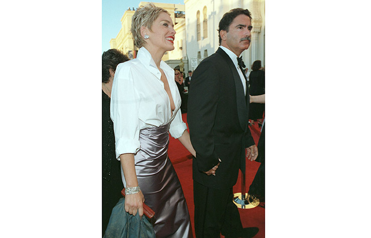At the Oscars in 1998.
