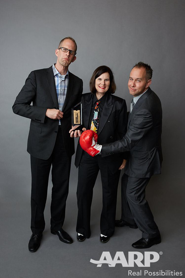 Pete Docter Paula Poundstone and Jonas Rivera, Movies for Grown Ups 2016