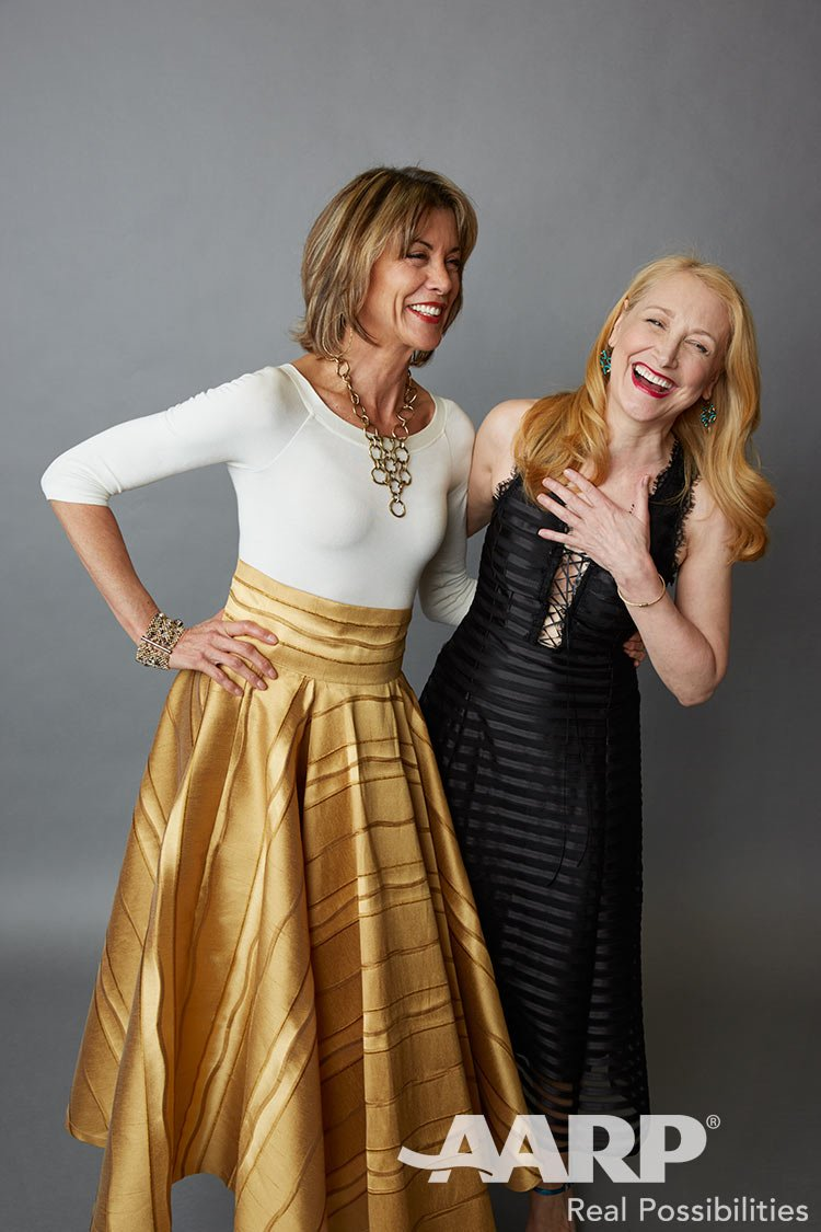 Wendie Malick and Patricia Clarkson, Movies for Grown Ups 2016