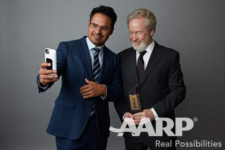 Michael Pena and Ridley Scott, Movies for Grown Ups 2016
