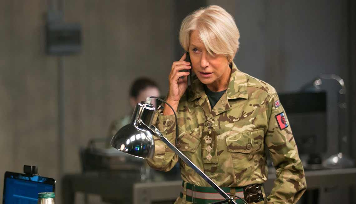 Hellen Mirren en una escena de la película 'Eye in the Sky'