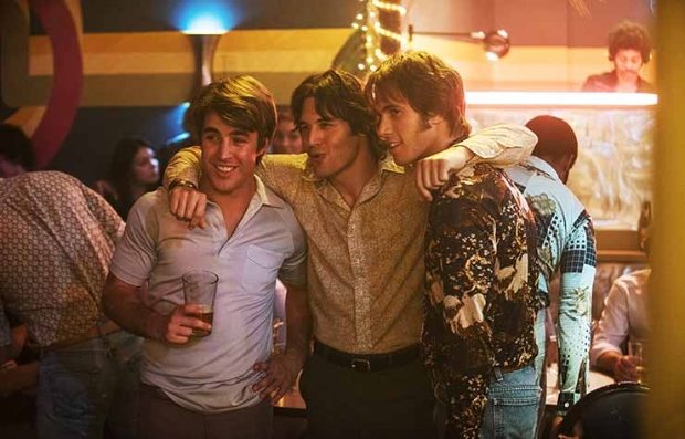 Escena de la película de comedia Everybody Wants Some