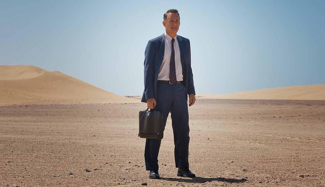Tom Hanks in 'A Hologram for the King'