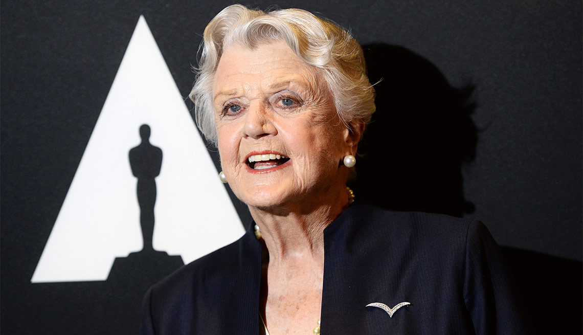 Angela Lansbury at the Academy's 25th Anniversary Screening of 'Beauty and the Beast'