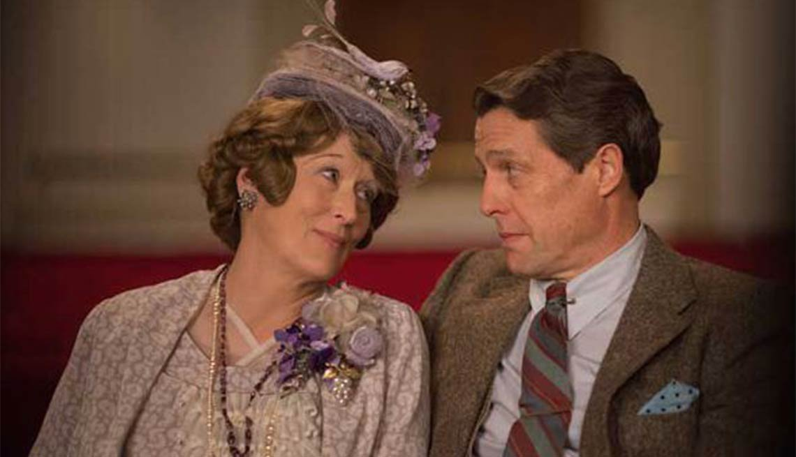 Meryl Streep and Hugh Grant in 'Florence Foster Jenkins'