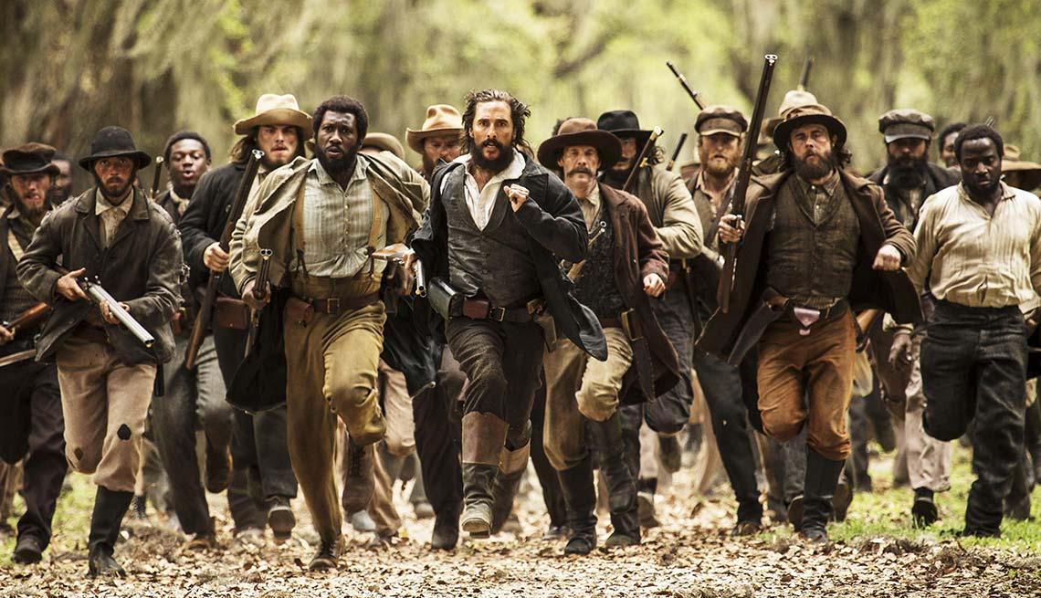Mahershala Ali and Matthew McConaughey in 'Free State of Jones'