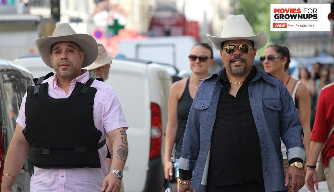 Edgar Garcia and Luis Guzman star in the comedy 'Puerto Ricans in Paris'