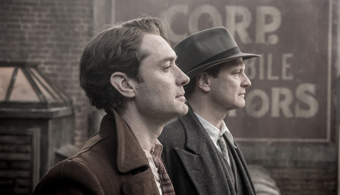 Jude Law and Colin Firth in 'Genius'