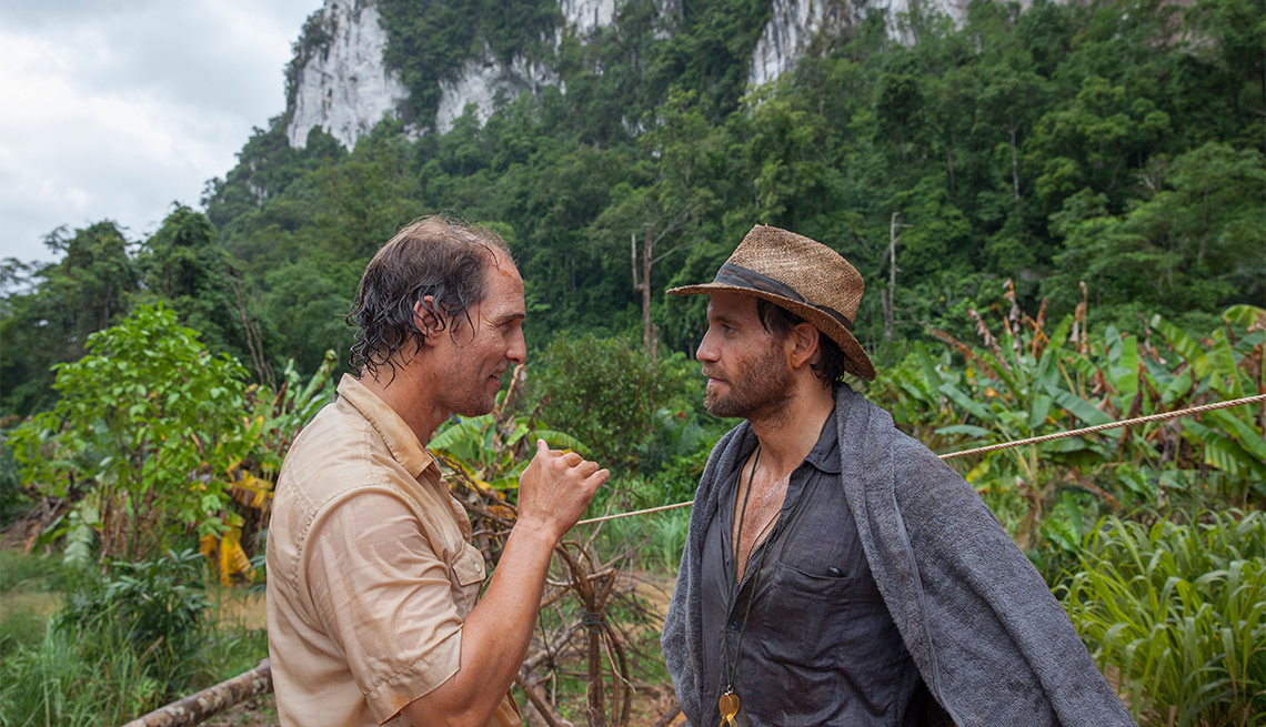 Matthew McConaughey and Edgar Ramirez in 'Gold'