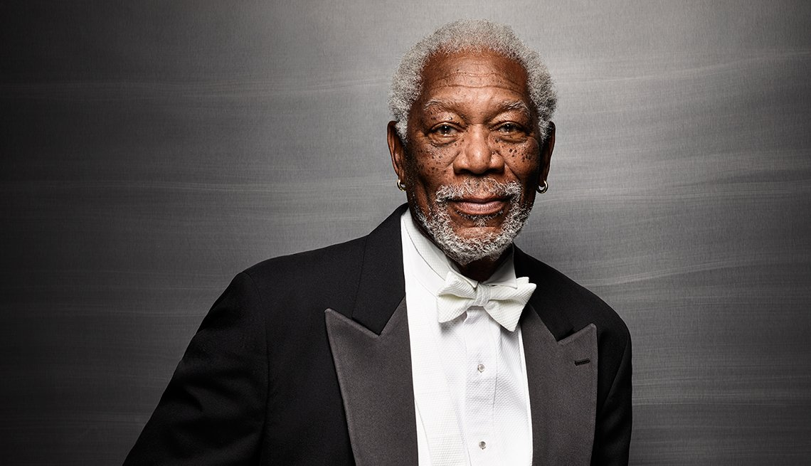 Movies for Grownups: Telling the Real Story, Morgan Freeman