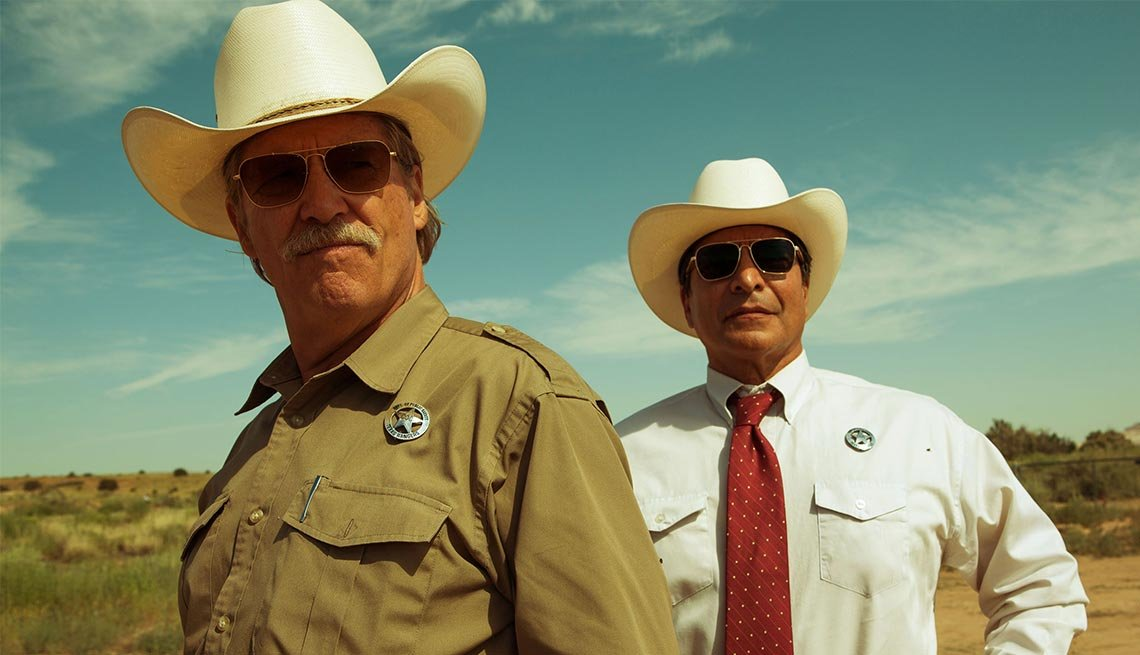Jeff Bridges and Gil Birmingham in 'Hell or High Water'