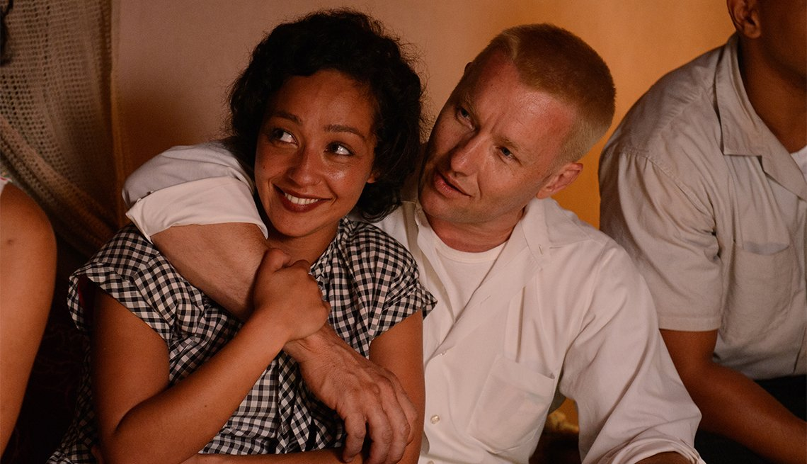 Ruth Negga and Joel Edgerton in 'Loving'
