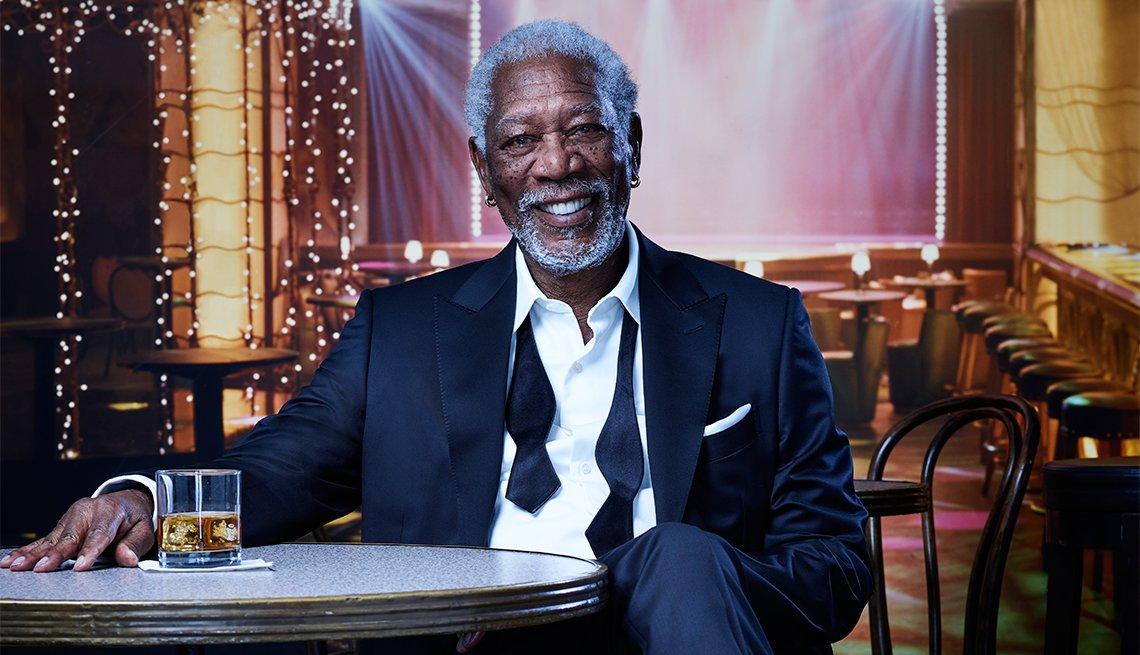 Morgan Freeman photographed by Robert Trachtenberg At Milk Studios in LA on Wednesday, November 16th, 2016.