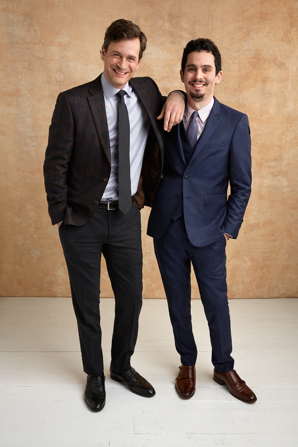 Tom Everett Scott and Damien Chazelle at the 16th Annual AARP The Magazine's Movies for Grownups Awards