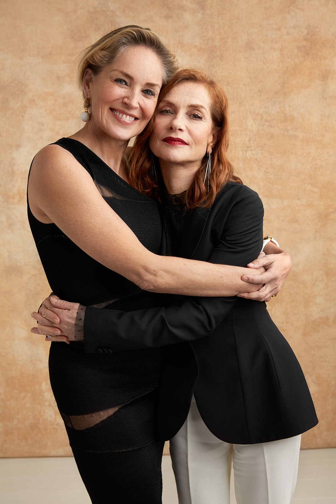 Sharon Stone and Isabelle Huppert at the 16th Annual AARP The Magazine's Movies for Grownups Awards