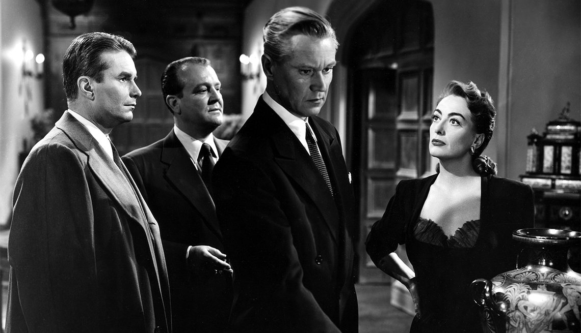 Joan Crawford in 'The Damned Don't Cry'
