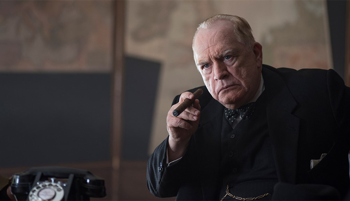 Brian Cox in 'Churchill'