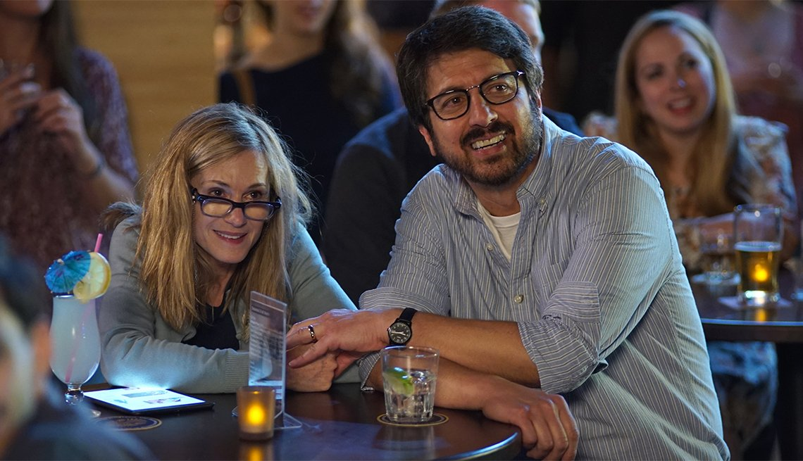 Holly Hunter and Ray Ramono in 'The Big Sick'