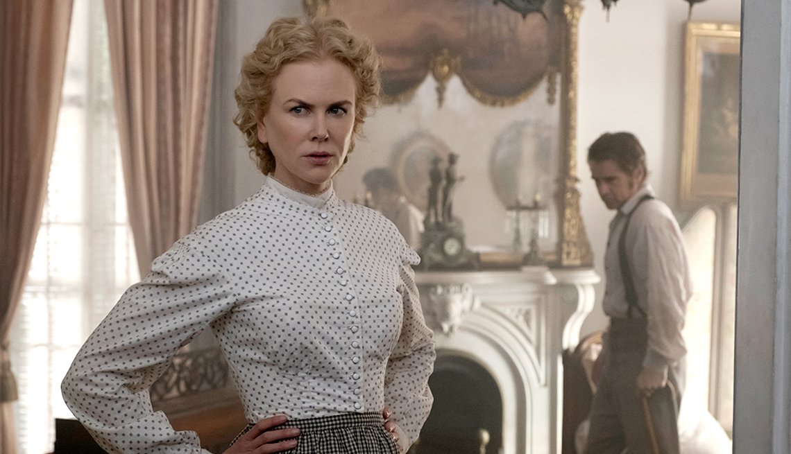 Nicole Kidman and Colin Farrell in 'The Beguiled'