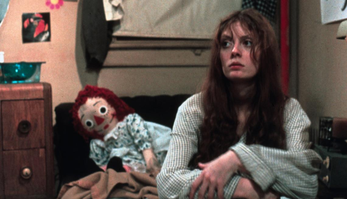 Escena de la película Joe, donde debutó Susan Sarandon en 1970.
