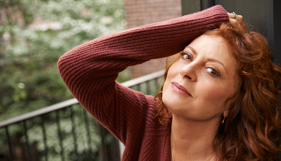 Retrato de Susan Sarandon