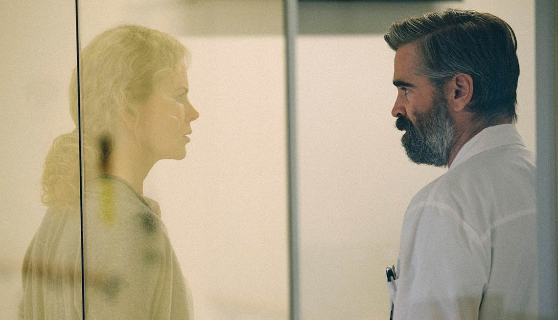 Nicole Kidman and Colin Farrell in 'The Killing of a Sacred Deer'