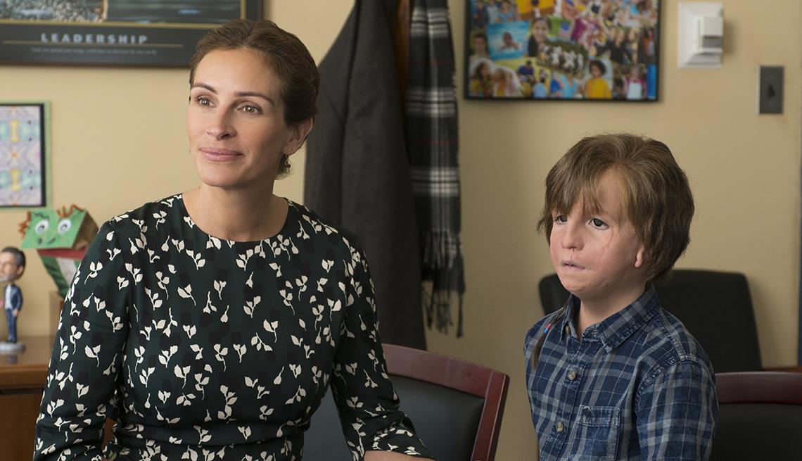 Julia Roberts and in Jacob Tremblay 'Wonder'
