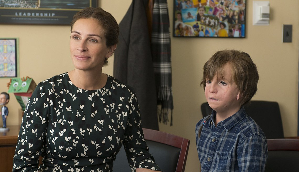 Julia Roberts and in Jacob Tremblay 'Wonder'