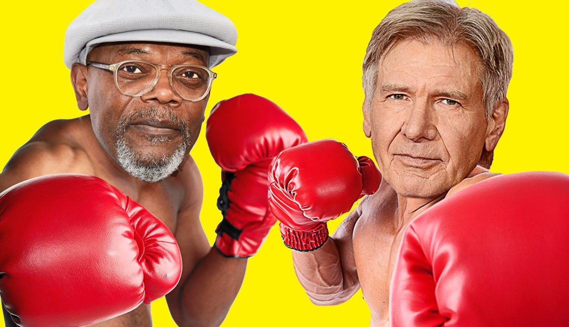 Samuel L. Jackson and Harrison Ford