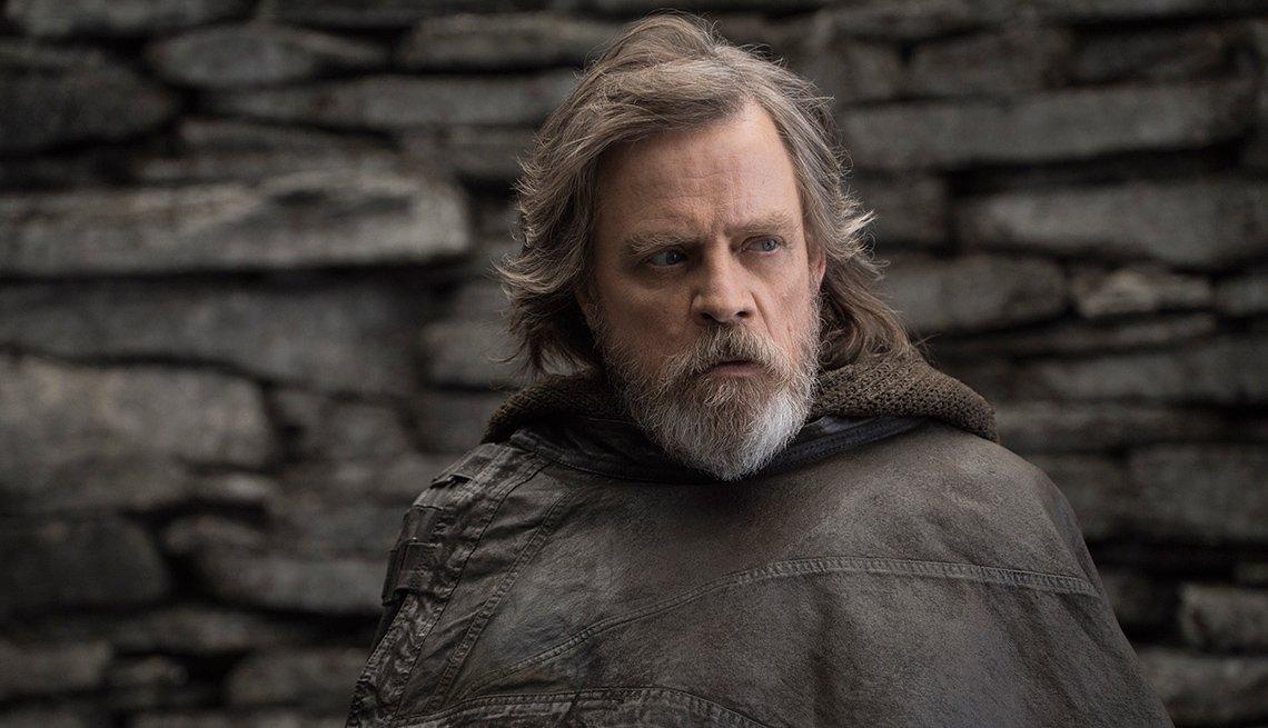 Mark Hamill as Luke Skywalker in 'Star Wars: The Last Jedi'