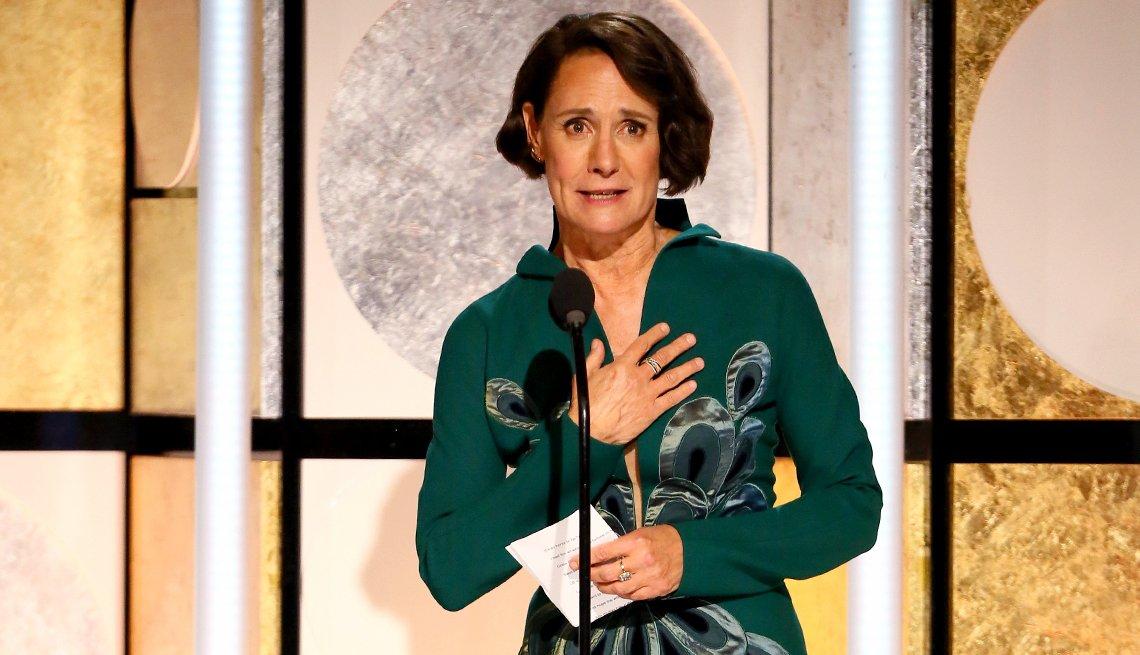 Laurie Metcalf en la entrega de la 17 gala de Movies For Grownups