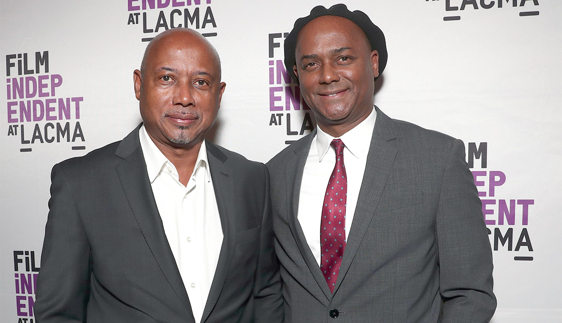 item 14 of Gallery image - Director Raoul Peck and Producer Hebert Peck