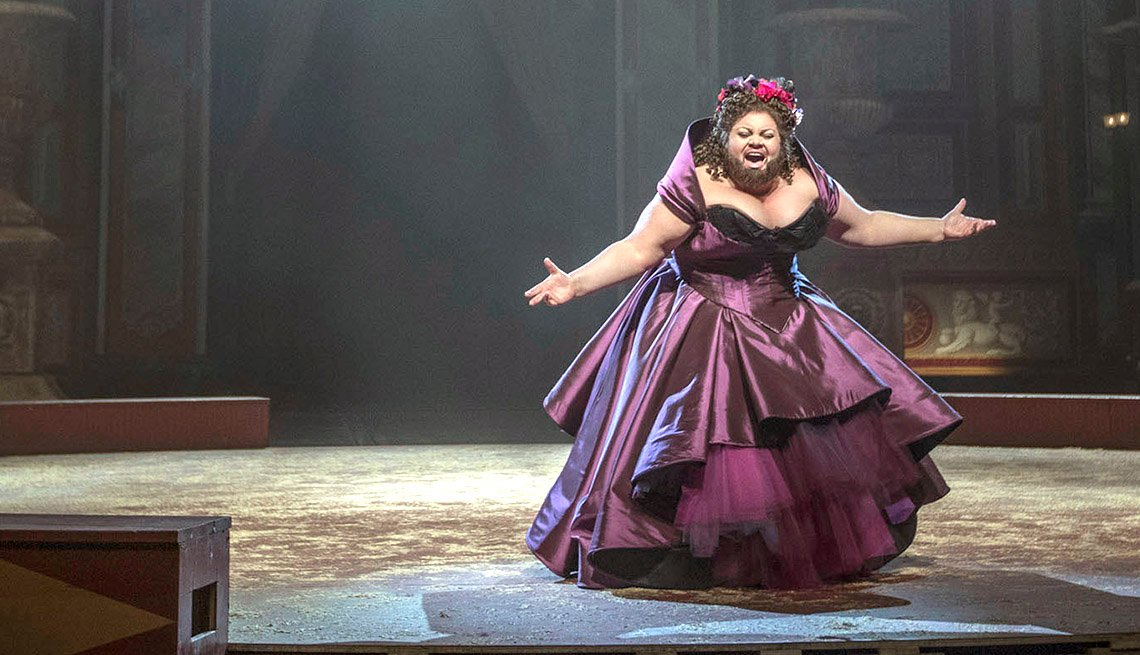 "item 11, Gallery image. Keala Settle as Lettie Lutz in ""The Greatest Showman"""