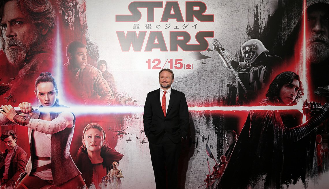 "item 1, Gallery image. ""Star Wars: The Last Jedi"" director Rian Johnson"