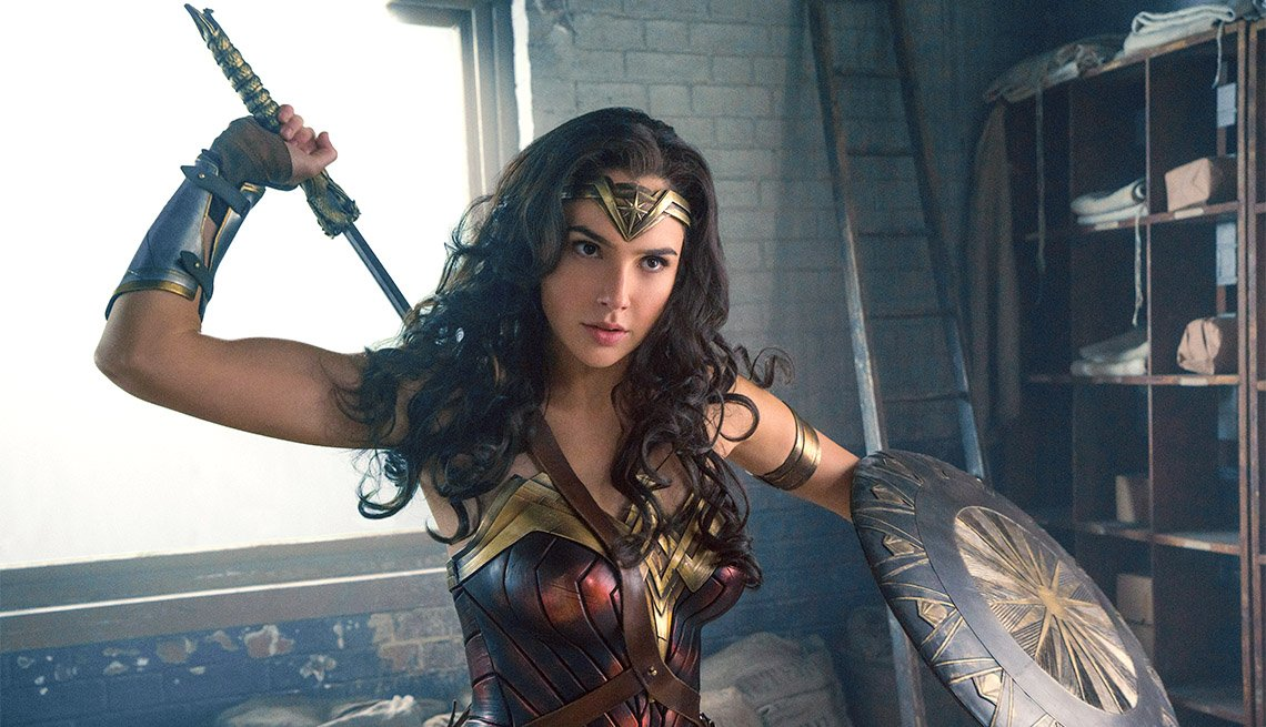 "item 14, Gallery image. Gal Gadot stars in ""Wonder Woman"""
